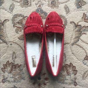 """Birdies Slippers """"Cardinal Red"""""""